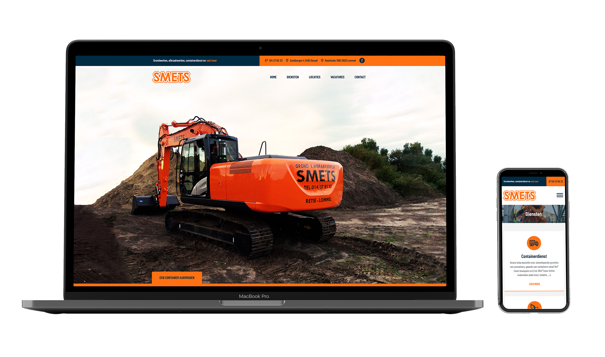 Website Smets BVBA